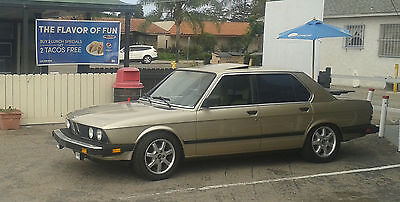 1985 BMW 5-Series 4 Door 1985 BMW 535i E28 AUTO 100% CALIF. RUNS PERFECT