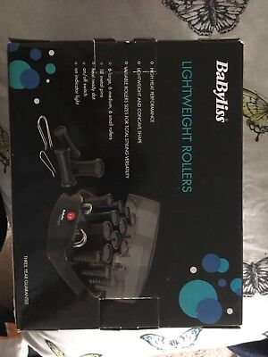 Babyliss Lightweight Rollers Brand New in Box. Unwanted Gift ****Mint