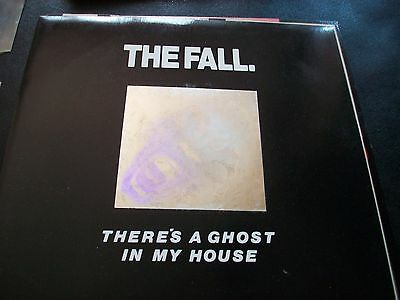 The Fall There's a Ghost in My House/Haf Found Boormann (hologram slv 7in rare)