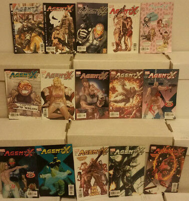 Agent X #1 to 15 Complete Marvel Comics Deadpool Spin-Off Lot NM-