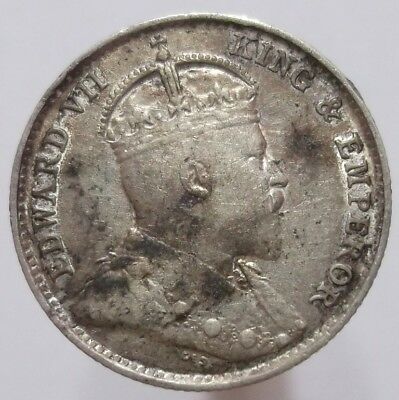 5 Cents 1902 (Straits Settlements) Silver