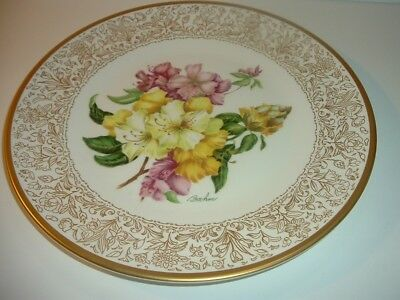 Boehm England Rhododendron Plate
