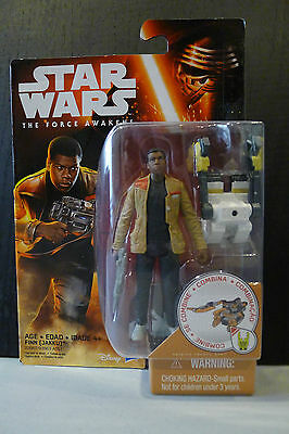 Star Wars - The Force Awakens - Finn (Jakku) Figure - Factory Sealed!
