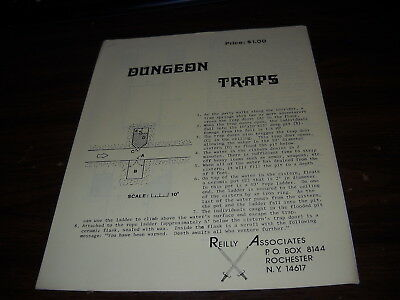 Reilly Associates: Dungeon Traps