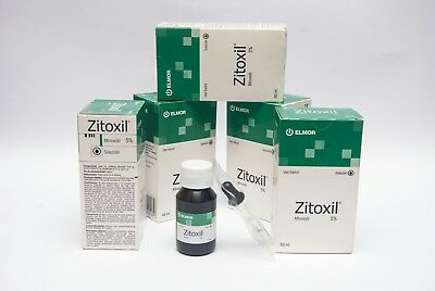 5% Minoxidil Extra Strength Men Hair Regrowth Solution (Zitoxil) 1-3-6-12 Month