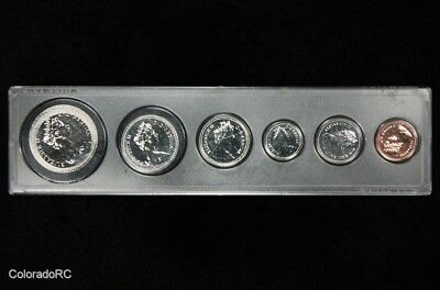 1980 Canada Proof 6 Coin Set in Whitman Holder - Nice Uncirculated Set