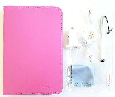 """THOMSON 5 IN 1 ACCESSORY for 17.75CM (7"""") TABLET PC Brand New Pink Fast & Free P"""