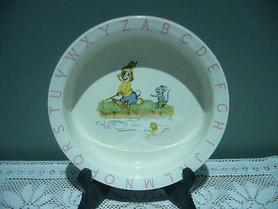 Lord Nelson Pottery England Vintage Childs / Kids China Bowl - Gc
