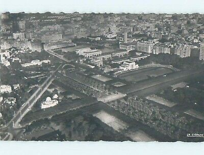 old rppc AERIAL VIEW OF TOWN Casablanca Morocco HM1678