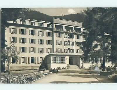 old rppc LARGE HOTEL Zermatt - Visp - Valais Switzerland HM2289