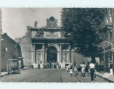 old rppc ARSENAL MARINE ARCH Toulon - French Riviera - Cote D'Azur France HM2304