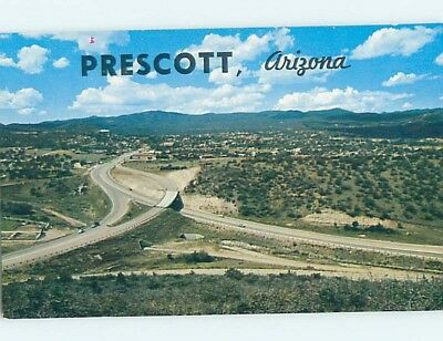 Unused Pre-1980 PANORAMIC VIEW Prescott Arizona AZ hn1673