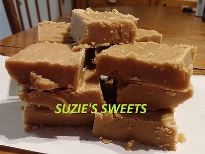 Peanut Butter Fudge 30 Pieces Homemade From Suzie's Sweets Fresh Thick Delicious