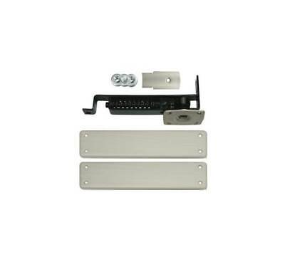 Double Action Spring Hinge w Solid Brass Cover Plate [ID 1025392]