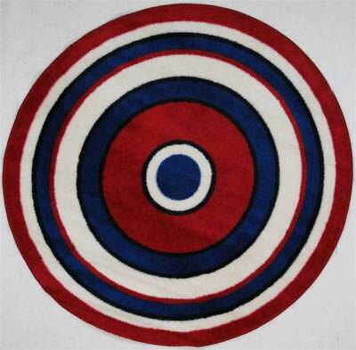 Concentric-2 Multicolor Kids Rug [ID 74328]
