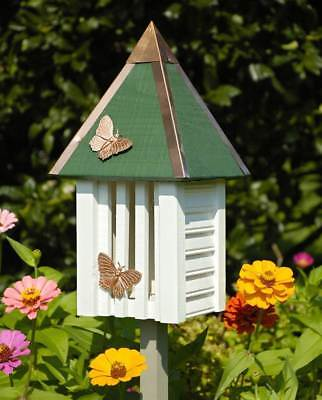 Flutterbye Butterfly House in White  [ID 9022]