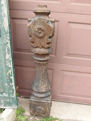 Victorian Cast Iron Post