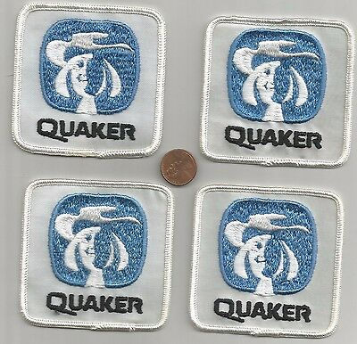 Lot of Vintage 1980's Quaker Oats Patches Advertising Collectible Logo