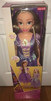 Disney Fairytale Friends Life Size Tangled Rapunzel 3FT Doll Target Exclusive