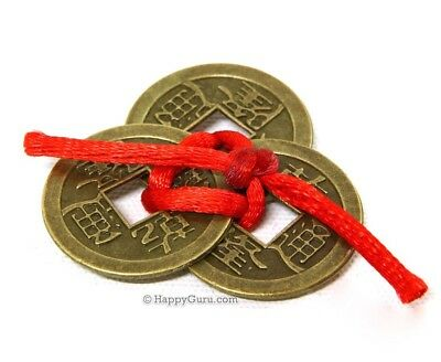 """""""lucky Coins"""" Chinese Fortune Wealth Feng Shui (Medium)"""