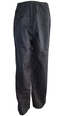 Waterproof Rain Over Pants Trousers Fishing Outdoor Wear Walking Motorcycle