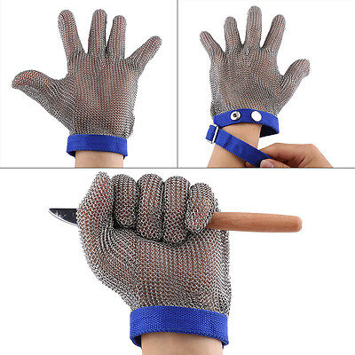 Stainless Cut Slip Proof Gloves Butcher Equipment Meat Procress Safety Gloves GD