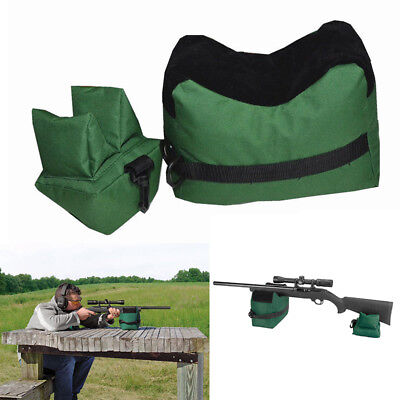 Large Shooting Bag Set Rifle Rest Range Gear Front Rear Bag for Outdoor Hunting