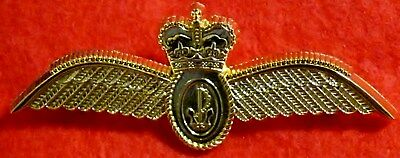 RAN -  Navy Aviation - Fighter Qualification Gold Breast Badge (Large)