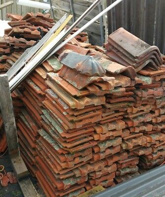 Free Terracotta Roof tiles approx 800-900