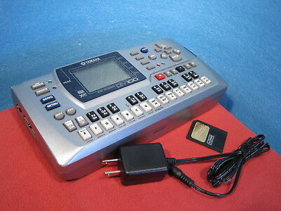 YAMAHA QY100 Mobile Sequencer w/ 8MB memory, Power 100-240V Used Free Shipping