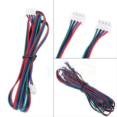 5pc 3D Printer 4-Pin Female-Female XH2.54 Connector Nema17 Stepper Motor Cable G