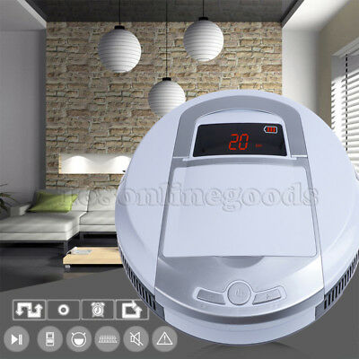 2017 Vacuum Cleaner Robot Robotic Automatic Carpet Cleaner Sweeper Recharge Auto