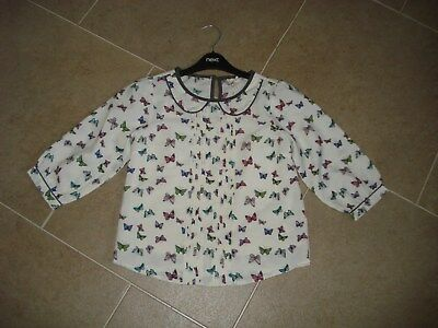 Next Girls  Blouse With Vest/slip Age 10 Years