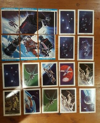 sunblest tip top cards space shot mixed lot