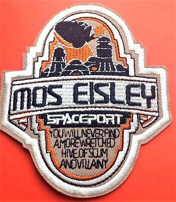 """Star Wars Mos Eisley Celebration Embroidered 4.5"""" Patch Iron On Free P & P"""