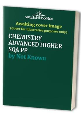 CHEMISTRY ADVANCED HIGHER SQA PP by Not Known Paperback Book The Cheap Fast Free