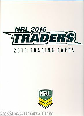 Super Special** While stock lasts**2016 NRL ESP Traders official album only
