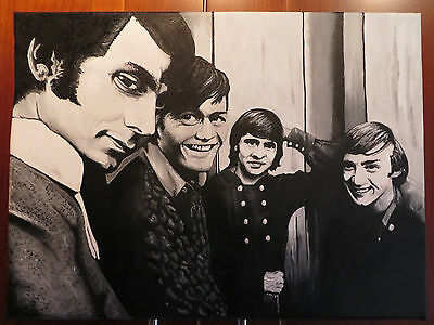 The Monkees  **Original Hand Painted Canvas!!!!!!