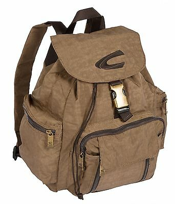 Camel Active Backpack Tasche Rucksack Outdoor Journey Braun Sand