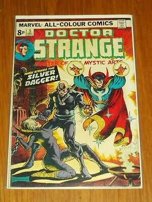 Doctor Strange Vol 2 #5 Fn+ (6.0) Marvel Comics December 1974+