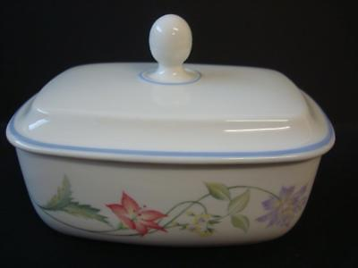 Royal Doulton Expressions Summer Carnival Butter Dish