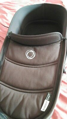 Bugaboo bee 3 black carrycot/bassinet