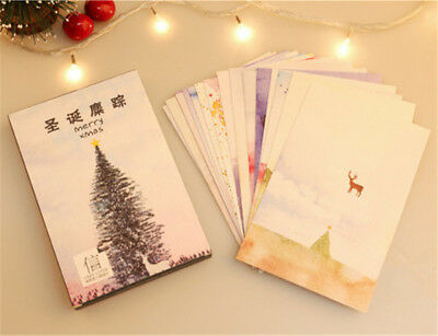 Lot of 30 Postcard Christmas Tree Cartoon Deer series Picture Post Cards