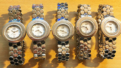Wholesale Job Lot Silver Watches pack of 5 watches
