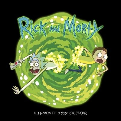 Rick And Morty 2018 Official Wall Calendar - Merchandise - 30 x 30 cm (closed)