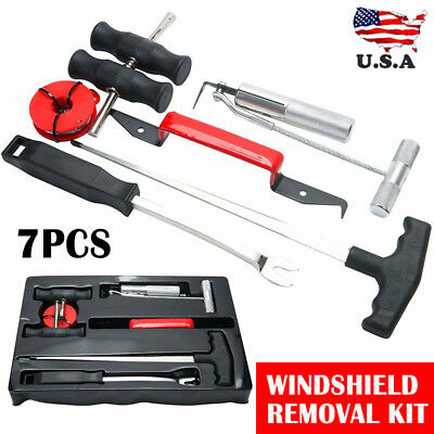 7 in 1 Automotive Wind Glass Remover Professional Windshield Removal Tool Kit US