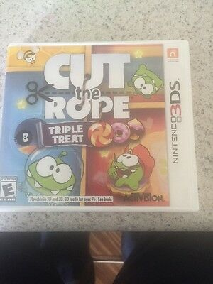 Cut the Rope: Triple Treat - Nintendo 3DS Game