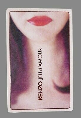 Carte publicitaire - advertising card - Jeu d'Amour  Kenzo