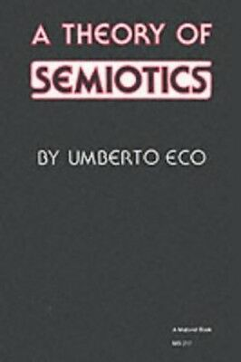 A Theory of Semiotics (Critical social studies) by Eco, Umberto Paperback Book