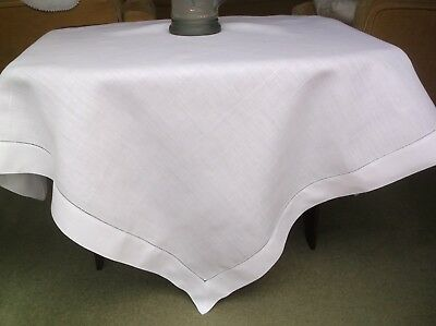 Vintage Linen Plane Table Cloth